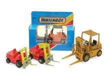Four Forklift Trucks