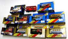 Eleven Matchbox Vehicles