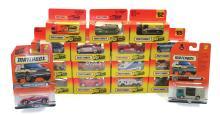 Seventeen modern Matchbox Vehicles