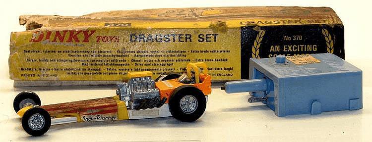 Dinky 370 Dragster Set