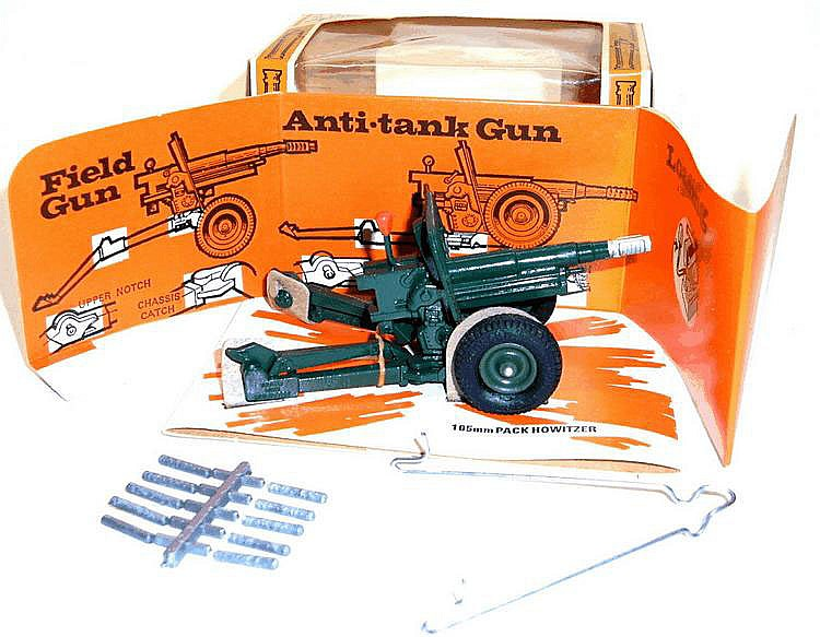 Britains 1:32 Scale 9724 Howitzer Anti-tank Gun