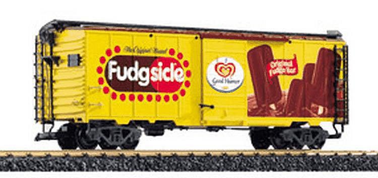 LGB 1-gauge 48915 'Fudgsicle' Reefer Car
