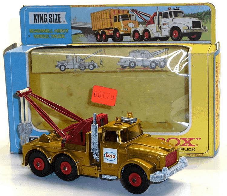 Matchbox K-2 Scammell Heavy Wreck Truck