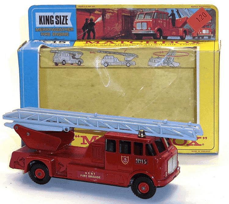 Matchbox K-15 Merryweather Fire Engine