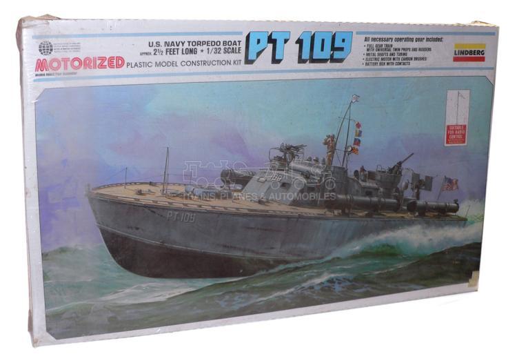 Lindberg 812 motorised 1:32 scale US Navy Torpedo Boat Kit