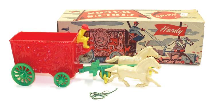 Hardy No. 2 plastic Circus Wagon
