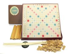 Selchow & Righter Scrabble Set