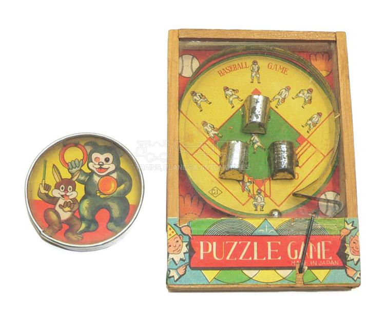Two early Japanese Puzzles