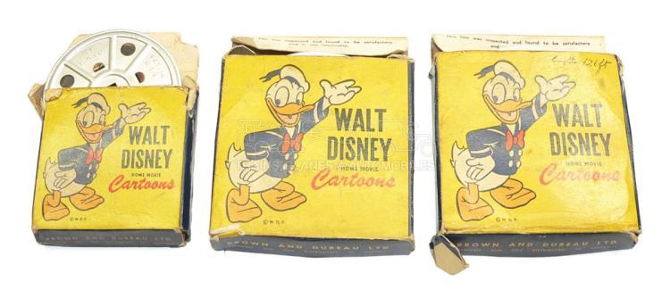 Three Disney Cartoon 16mm Films