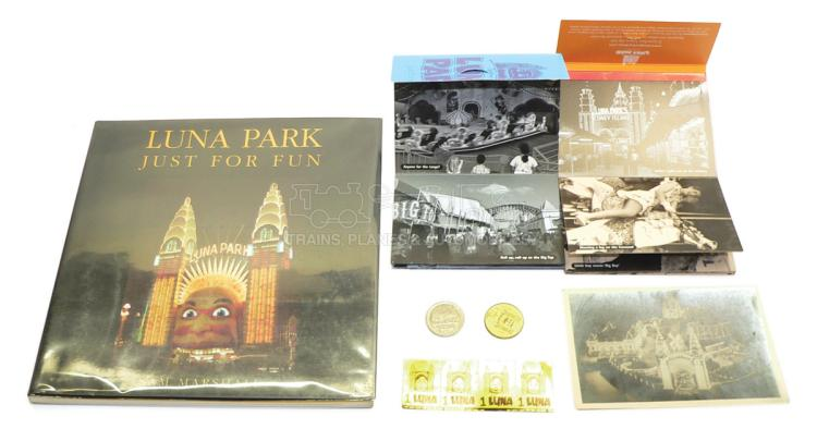 Collection of Luna Park Memorabila