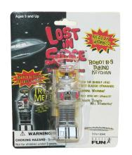 Basic Fun 831-0 Lost in Space Robot B-9 Talking Keychain