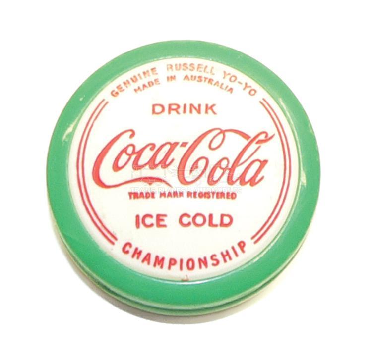 Russell Championship Coca-Cola Yo-Yo
