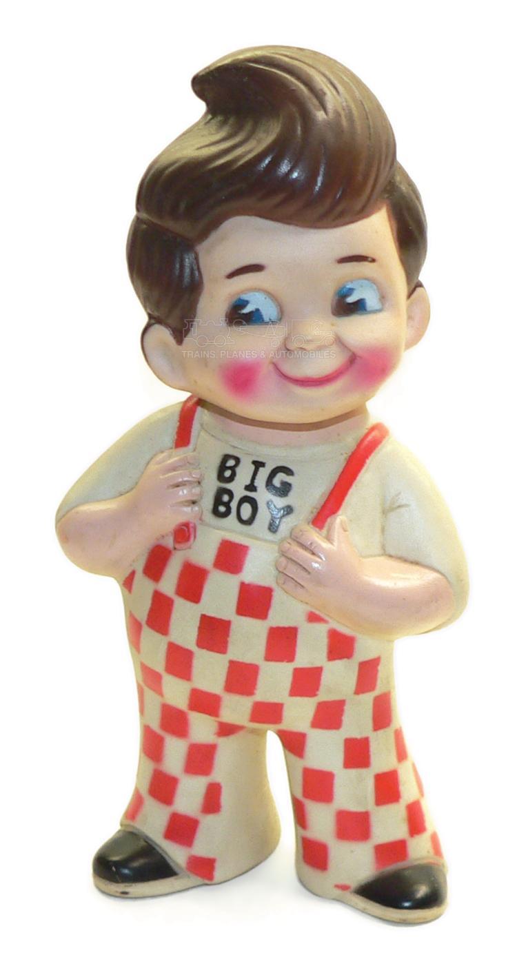 Big Boy Restaurants rubber Money Box
