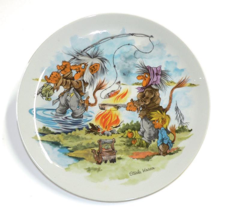 Spal Troll Dinner Plate