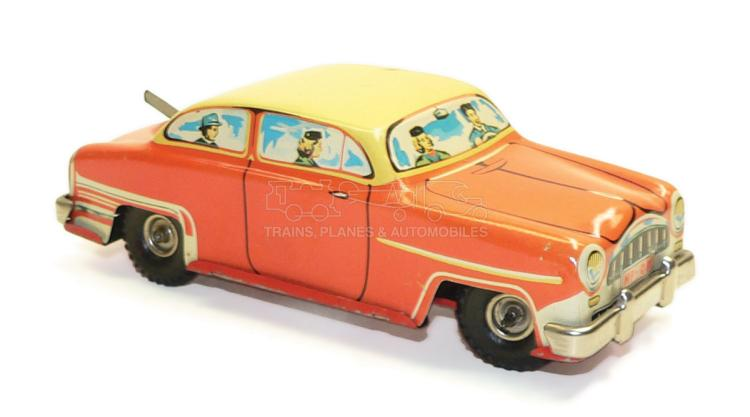 German tinplate clockwork Car