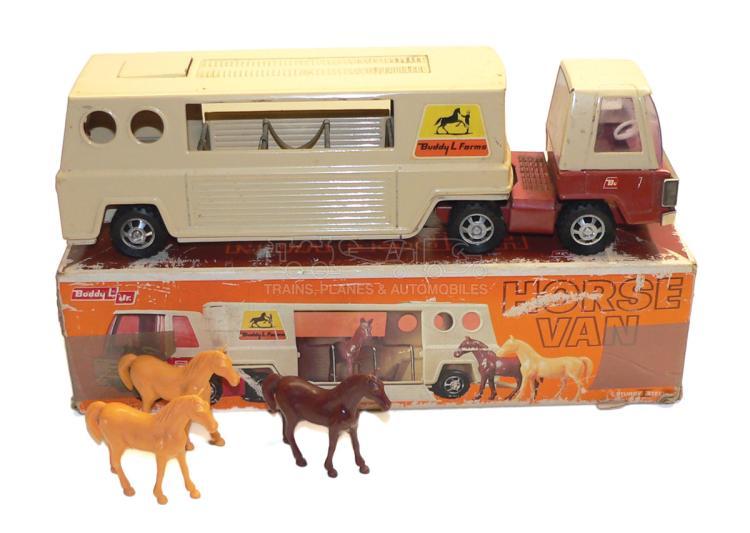 Buddy L 5123 tinplate Horse Van