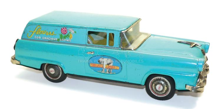 Bandai tinplate friction-drive Ford Van
