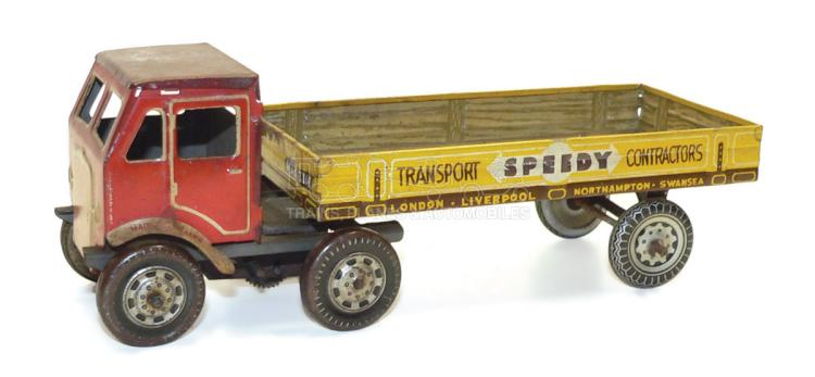 Mettoy tinplate clockwork Flatbed Truck