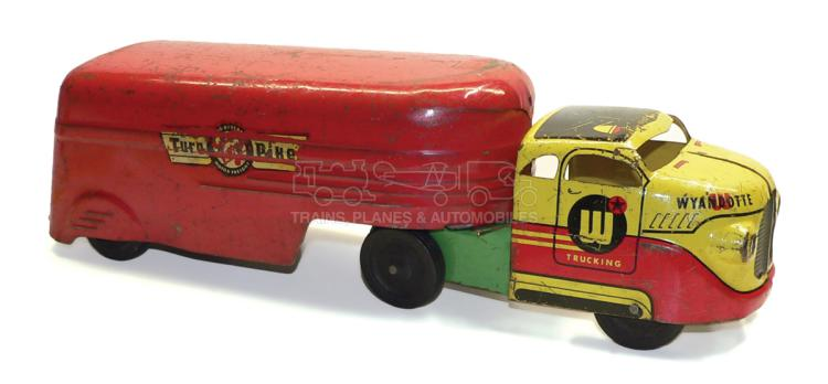 Wyandotte pressed steel Articulated Lorry