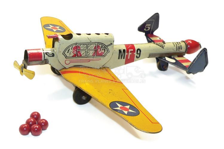 Gotham Pressed Steel Corporation tinplate Fighter Plane
