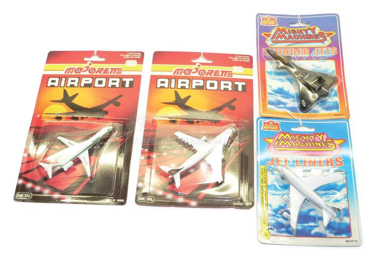 Four diecast Aeroplanes