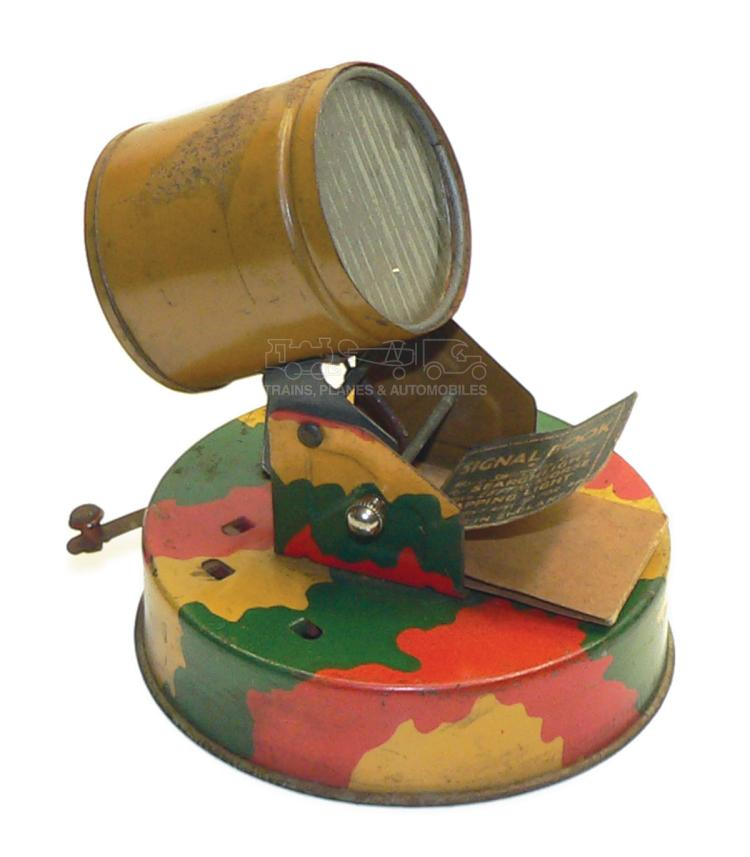 English tinplate battery-operated Signal Light