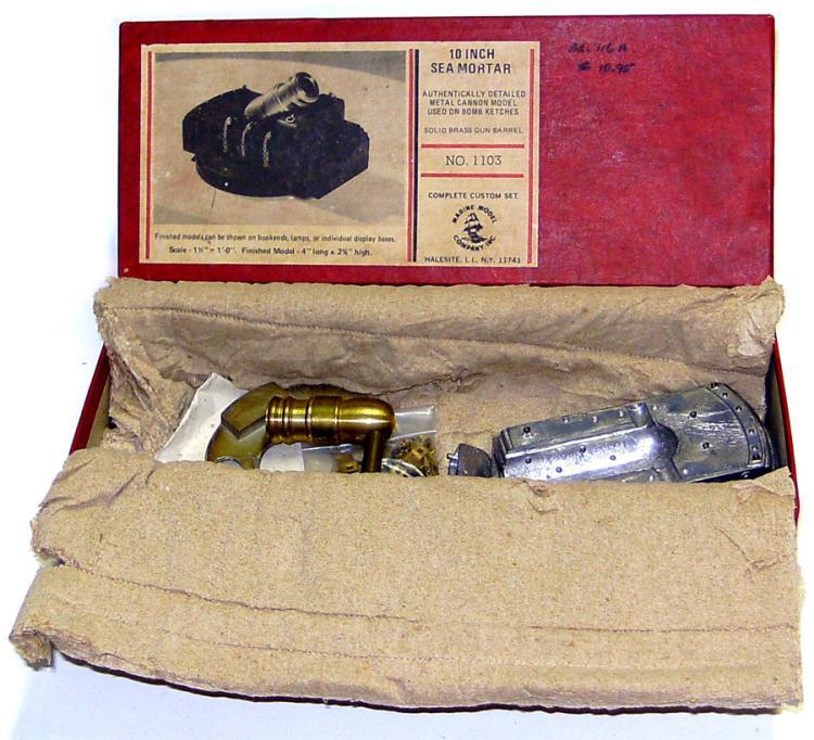 Halesite 1126 metal Sea Mortar Kit
