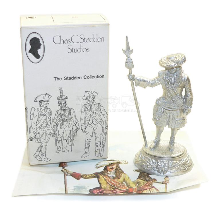 Charles Stadden No. 22 pewter 90mm Soldier Figurine