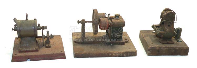 Three small Electric Motors