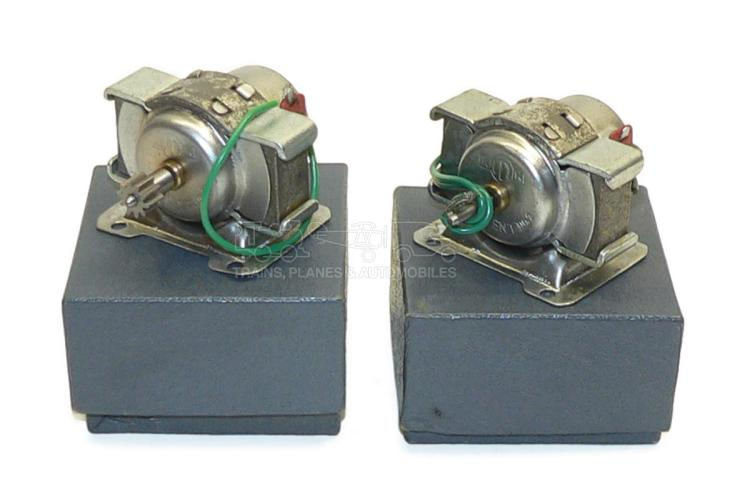 Two KMK No. 2 Electric Motors