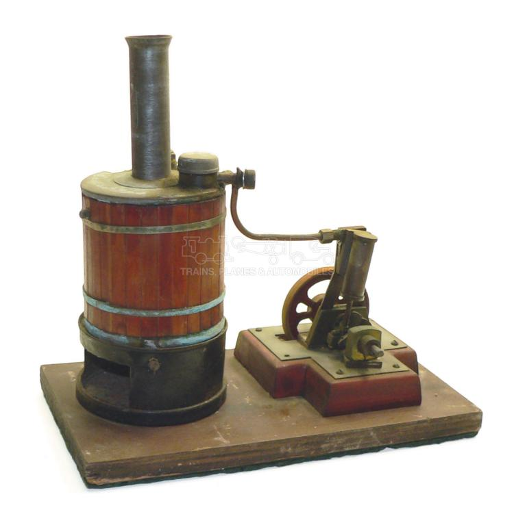 Stationary Steam Engine with Boiler