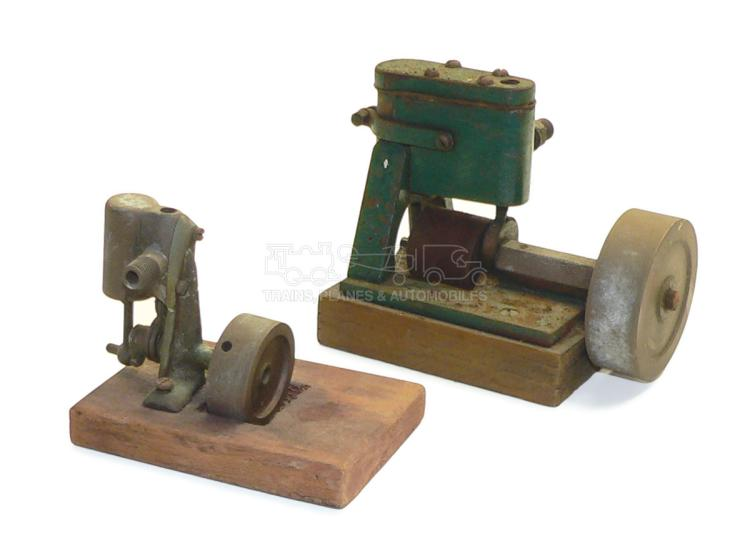 Two small Stationary Steam Engines