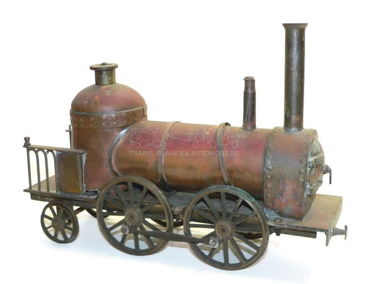 Brass & copper 0-4-2 Locomotive