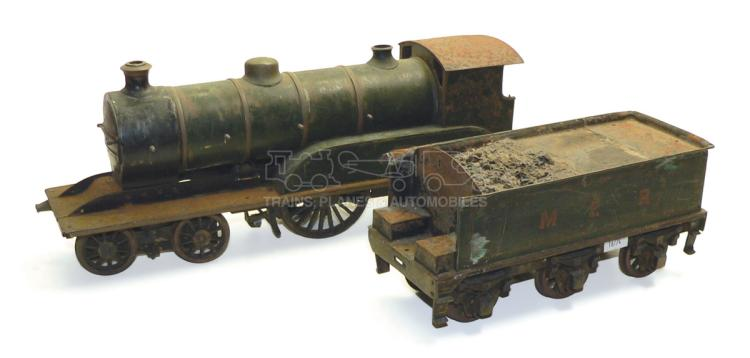 2-gauge 3-rail electric MER 4-4-0 Locomotive