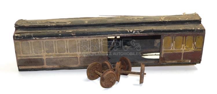2-gauge  wooden Passenger Coach