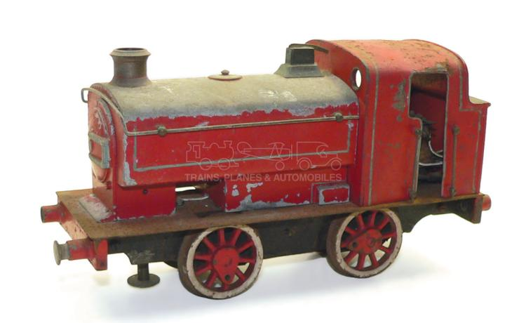 Diecast 1-gauge 3-rail electric 0-4-0 Tank Locomotive