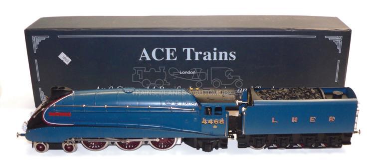 ACE Trains O-gauge LNER A4 4-6-0 Locomotive