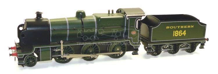 Bassett-Lowke O-gauge 3-rail SR 2-6-0 Locomotive