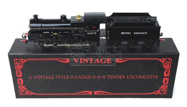 Vintage Trains O-gauge J Class 0-6-0 Locomotive