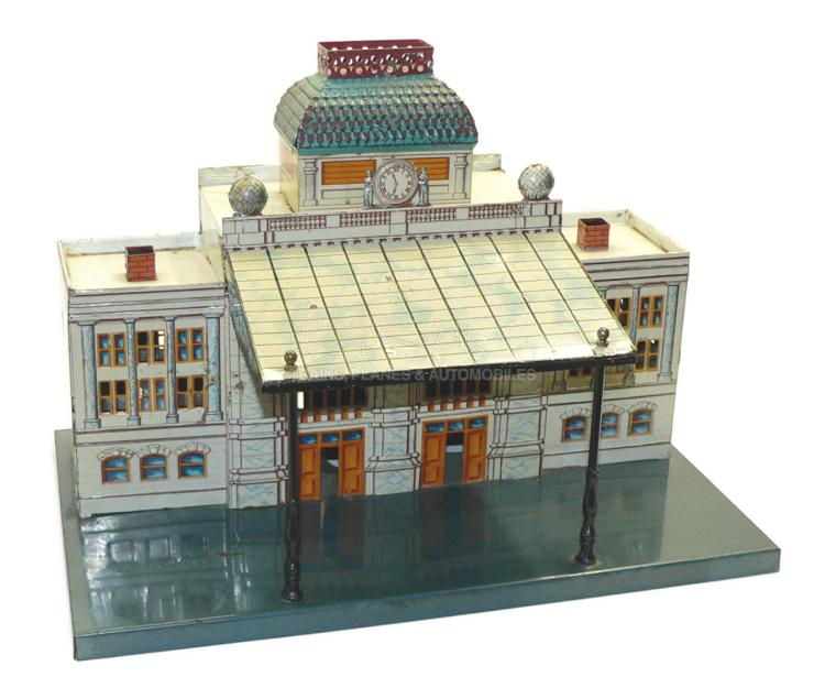 Bing O-gauge tinplate Main Station Building