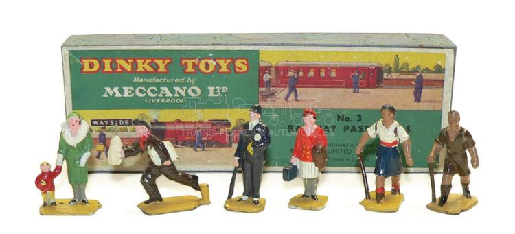 Dinky No. 3 Railway Passengers Set