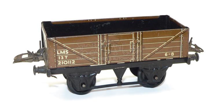 Hornby O-gauge LMS 4-wheel 5-plank Open Wagon