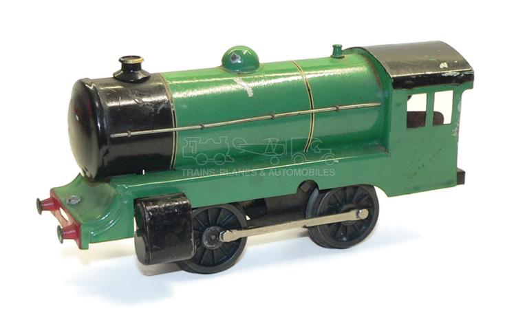 Robilt O-gauge clockwork 0-4-0 Locomotive