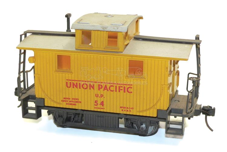 Atlas O-gauge Union Pacific 4-wheel Caboose