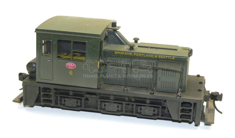 Atlas O-gauge SP&S Diesel Shunter