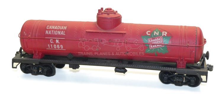 Kit-built O-gauge Canadian National Tank Wagon