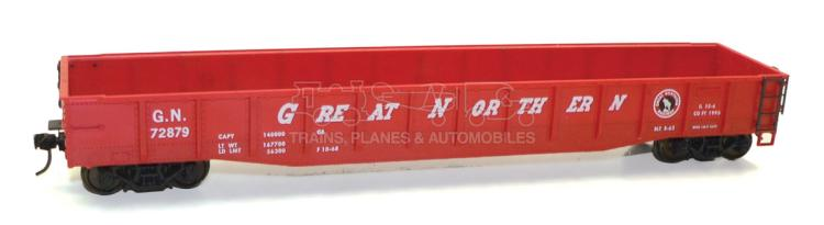 Atlas O-gauge Great Northern High Capacity bogie Wagon