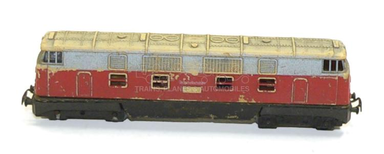 N-gauge German DR Co-Co Diesel Locomotive