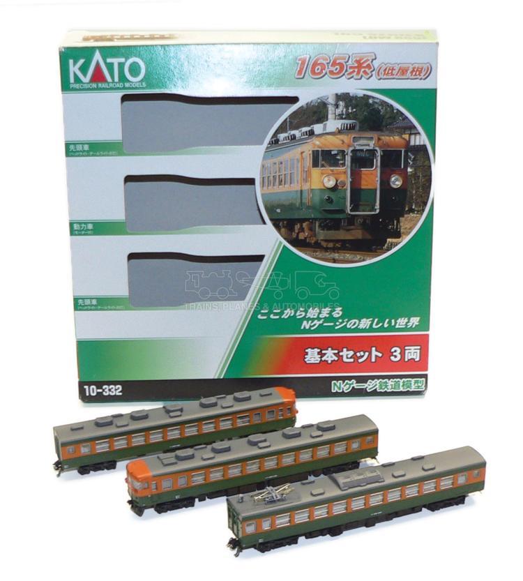 Kato 10-332 N-gauge Japanese Suburban 3-car EMU Set