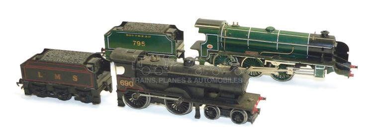 Two Hornby OO-gauge Locomotives